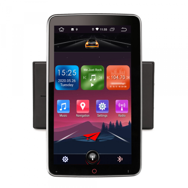 Navigatie auto universala 2DIN, 10.1 inch, Android 10.0 2