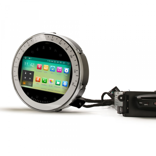 Navigatie auto, Pachet dedicat BMW Mini Cooper, 7 Inch, Android 10.0 2
