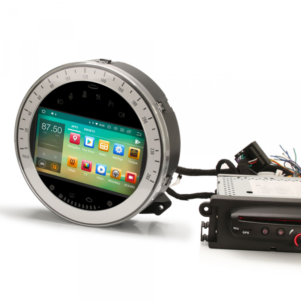 Navigatie auto, Pachet dedicat BMW Mini Cooper, 7 Inch, Android 10.0 5