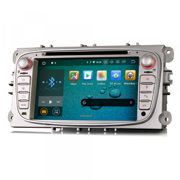 Navigatie auto 2 din, Pachet dedicat FORD Ford Focus Mondeo, Galaxy,Android 10, 7 inch [3]