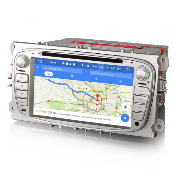 Navigatie auto 2 din, Pachet dedicat FORD Ford Focus Mondeo, Galaxy,Android 10, 7 inch [6]