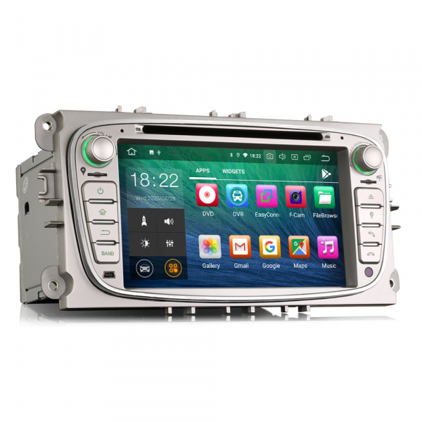 Navigatie auto 2 din, Pachet dedicat FORD Ford Focus Mondeo, Galaxy,Android 10, 7 inch [7]