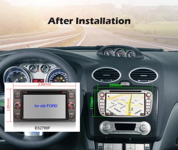 Navigatie auto, Pachet dedicat Ford ,7 inch, Android10.0 9
