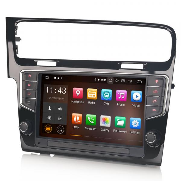 Navigatie auto 2 din, Pachet dedicat VW GOLF VII/7, Android 10, 9 inch [3]