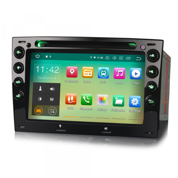 Navigatie auto, Pachet dedicat RENAULT MEGANE, Android 10.0,7 INCH [2]
