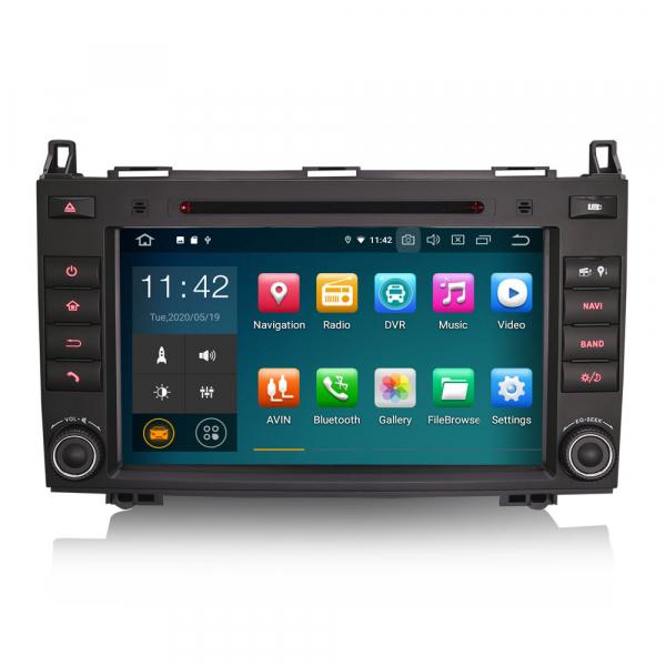 Navigatie auto, Pachet dedicat Mercedes BENZ, Android 10.0,8 inch 0