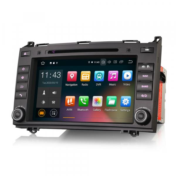 Navigatie auto, Pachet dedicat Mercedes BENZ, Android 10.0,8 inch 4
