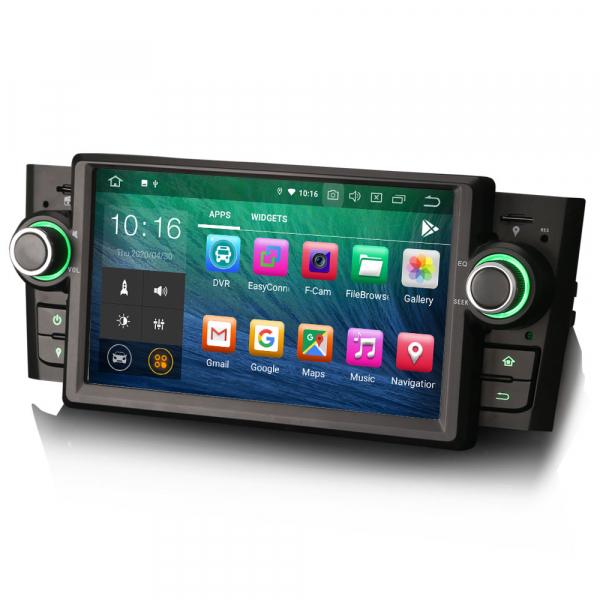 Navigatie auto, Pachet dedicat Fiat Punto Linea ,7 inch, Android 10 5