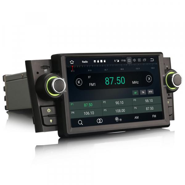 Navigatie auto, Pachet dedicat Fiat Punto Linea ,7 inch, Android 10 6