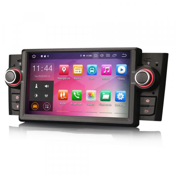 Navigatie auto, Pachet dedicat Fiat Punto Linea ,7 inch, Android 10 1