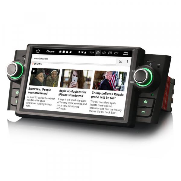 Navigatie auto, Pachet dedicat Fiat Punto Linea ,7 inch, Android 10 2