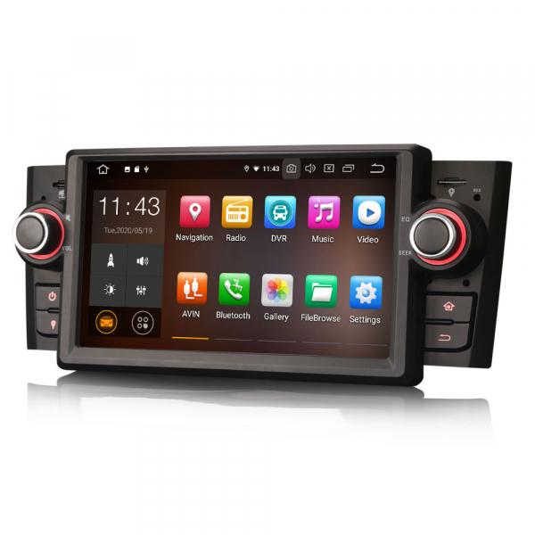 Navigatie auto, Pachet dedicat Fiat Punto Linea ,7 inch, Android 10 3