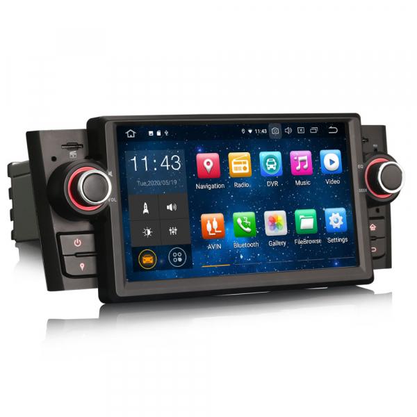 Navigatie auto, Pachet dedicat Fiat Punto Linea ,7 inch, Android 10 4