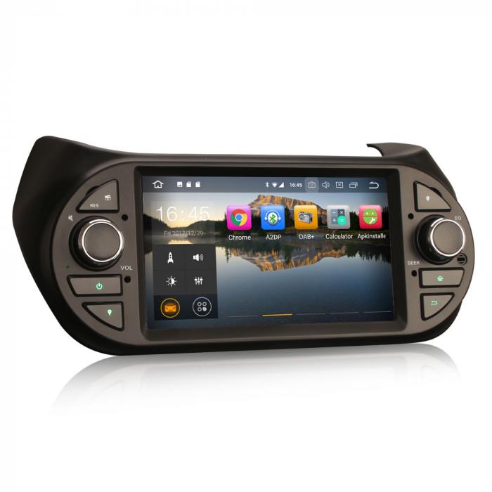 Navigatie auto, Pachet dedicat Fiat Fiorino Citroen Nemo Peugeot Bipper  ,7 inch, Android 10.0 1