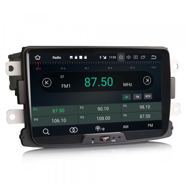 Navigatie auto, Pachet dedicat RENAULT/DACIA, Android 10.0; 8 Inch 6
