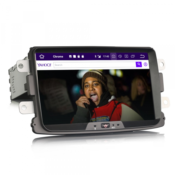 Navigatie auto, Pachet dedicat RENAULT/DACIA, Android 10.0; 8 Inch 4