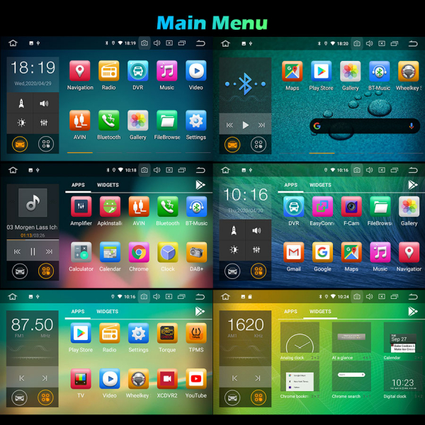 Navigatie auto, Pachet dedicat RENAULT/DACIA, Android 10.0; 8 Inch 8