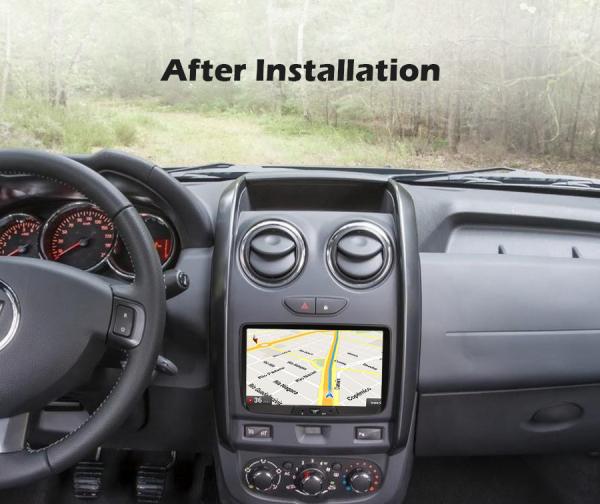 Navigatie auto, Pachet dedicat RENAULT/DACIA, Android 10.0; 8 Inch 7