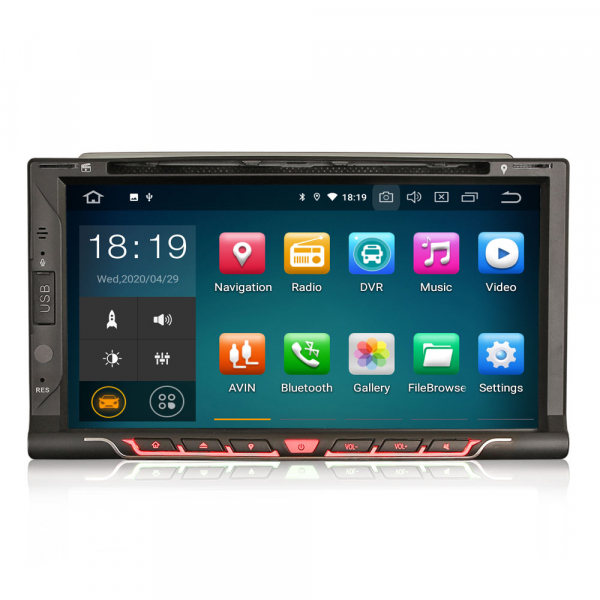 Navigatie auto universala 2DIN,(Nissan) 6.95 inch, Android 10.0 0