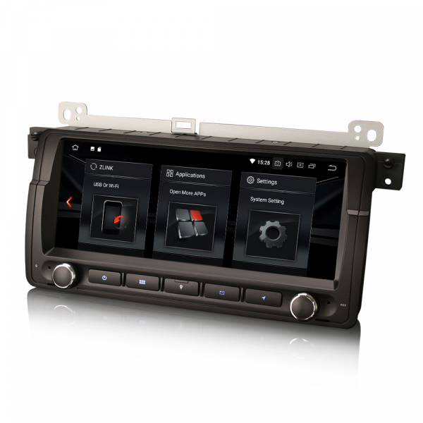 Navigatie auto, Pachet dedicat BMW Seria 3 ,8.8 inch, Android 10 [4]