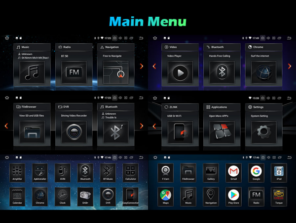Navigatie auto, Pachet dedicat BMW Seria 3 ,8.8 inch, Android 10 [9]