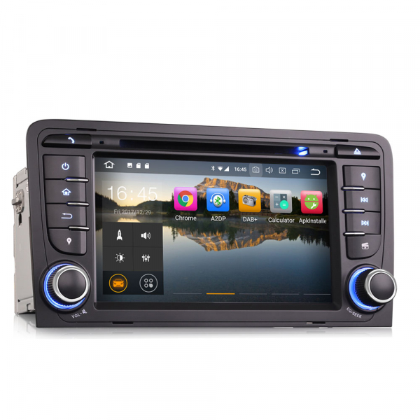 Navigatie auto, Pachet dedicat Audi A3/S3, Android 10.0; 7 Inch 2