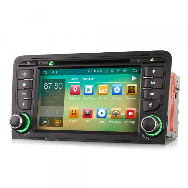 Navigatie auto, Pachet dedicat Audi A3/S3, Android 10.0; 7 Inch 6