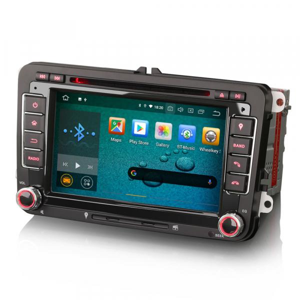 Navigatie auto 2 din, Pachet dedicat VW/SEAT/SKODA, Android 10 ,7 inch 6