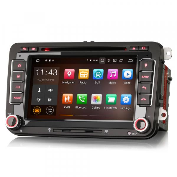 Navigatie auto 2 din, Pachet dedicat VW/SEAT/SKODA, Android 10 ,7 inch 2