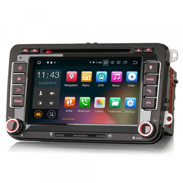 Navigatie auto 2 din, Pachet dedicat VW/SEAT/SKODA, Android 10 ,7 inch [4]