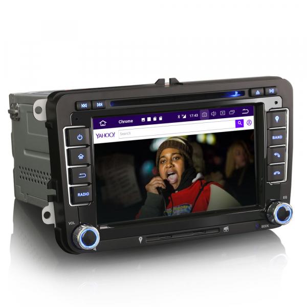 Navigatie auto 2 din, Pachet dedicat VW/SEAT/SKODA, Android 10 ,7 inch 5