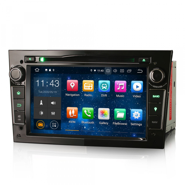 Navigatie auto, Pachet dedicat Opel Vivaro Combo Antara, 7 Inch, Android 10.0 [5]
