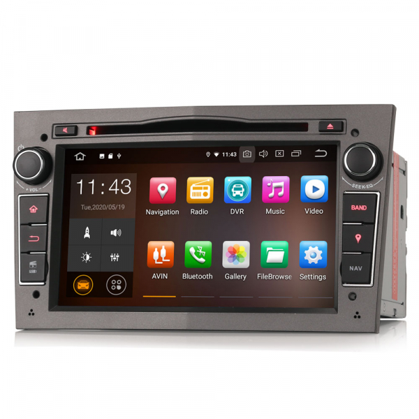 Navigatie auto, Pachet dedicat Opel Antara Zafira Combo, 7 Inch, Android 10.0 [2]