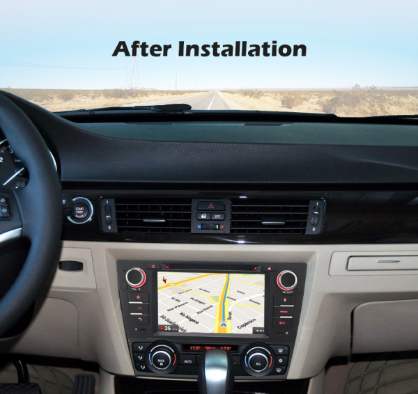 Navigatie auto, Pachet dedicat BMW Seria 3 ,7 inch, Android 10 [8]