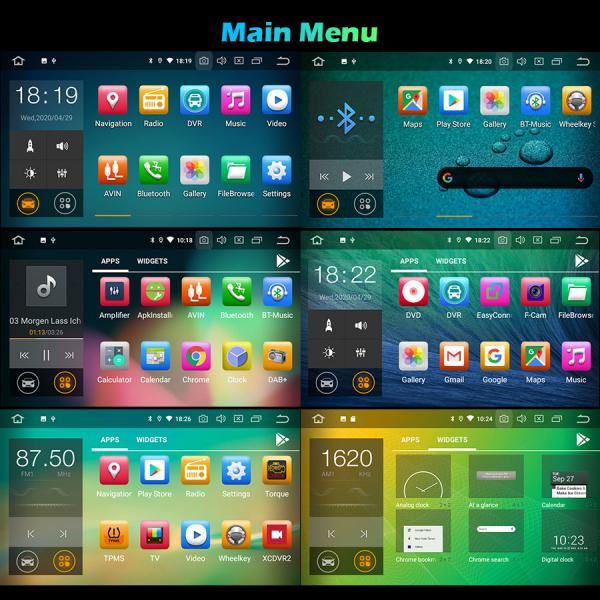 Navigatie auto, Pachet dedicat AUDI TT, Android 10.0, 7 Inch 8