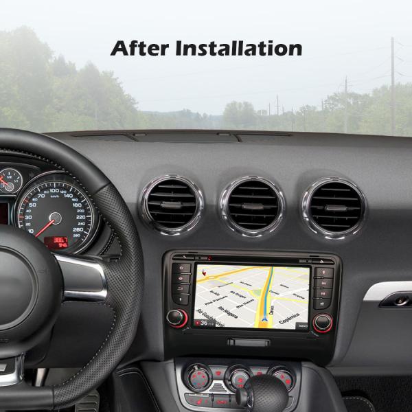 Navigatie auto, Pachet dedicat AUDI TT, Android 10.0, 7 Inch 7