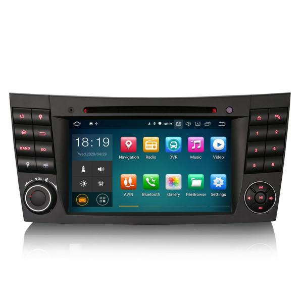 Navigatie auto, Pachet dedicat Mercedes E Class W211 CLS Class W219, Android 10.0, 7 inch 0