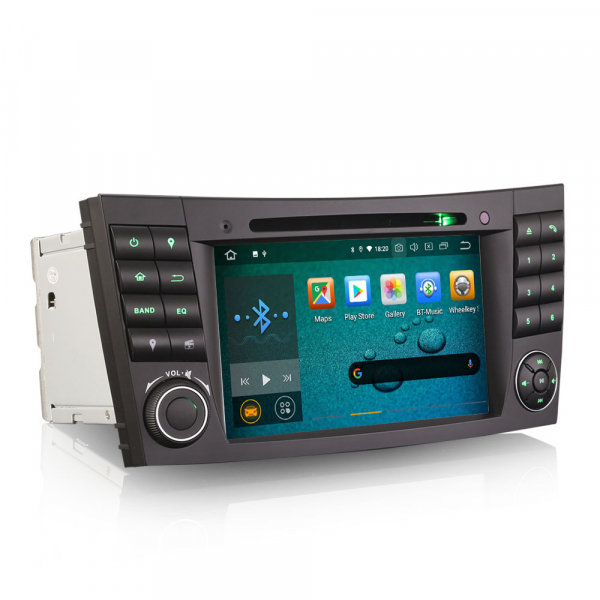 Navigatie auto, Pachet dedicat Mercedes E Class W211 CLS Class W219, Android 10.0, 7 inch 3