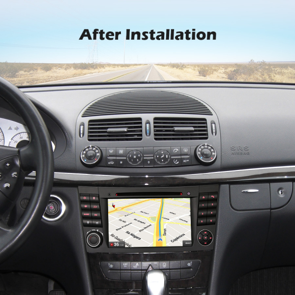 Navigatie auto, Pachet dedicat Mercedes E Class W211 CLS Class W219, Android 10.0, 7 inch 6