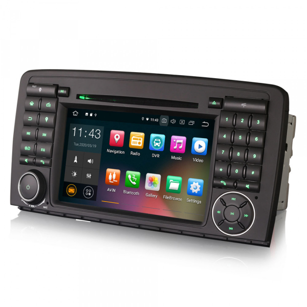 Navigatie auto, Pachet dedicat Mercedes R-Class W251 , Android 10.0, 7 inch [2]