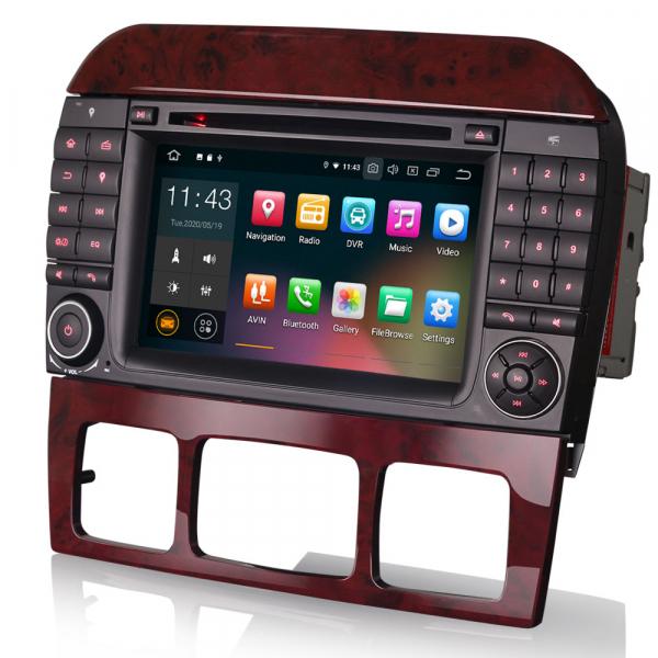 Navigatie auto, Pachet dedicat Mercedes Benz S/CL Class W220 W215 S500 CL55 , Android 10.0, 7 inch [1]