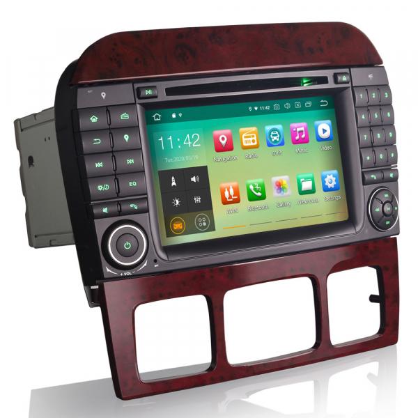 Navigatie auto, Pachet dedicat Mercedes Benz S/CL Class W220 W215 S500 CL55 , Android 10.0, 7 inch [3]