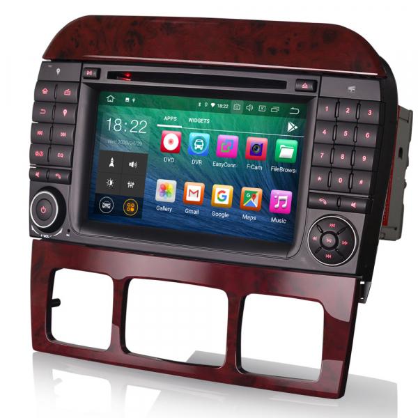 Navigatie auto, Pachet dedicat Mercedes Benz S/CL Class W220 W215 S500 CL55 , Android 10.0, 7 inch [4]