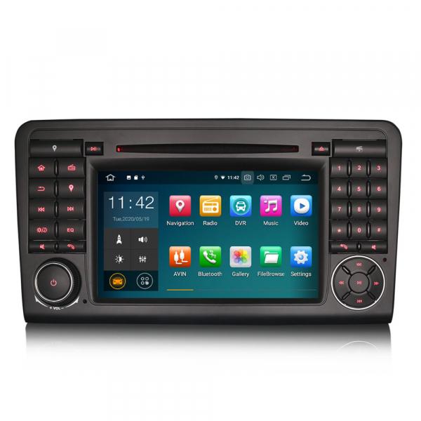 Navigatie auto, Pachet dedicat Mercedes Benz ML-Class W164, Android 10.0, 7 inch 0