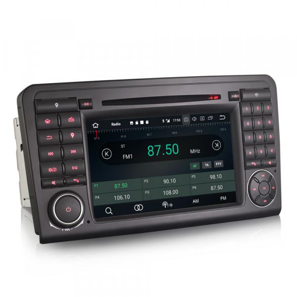 Navigatie auto, Pachet dedicat Mercedes Benz ML-Class W164, Android 10.0, 7 inch 7