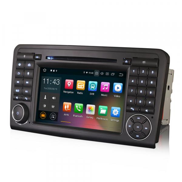 Navigatie auto, Pachet dedicat Mercedes Benz ML-Class W164, Android 10.0, 7 inch 2