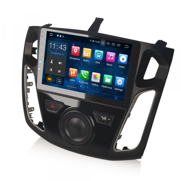 Navigatie auto, Pachet dedicat FORD Focus,9 inch, Android 10.0 6