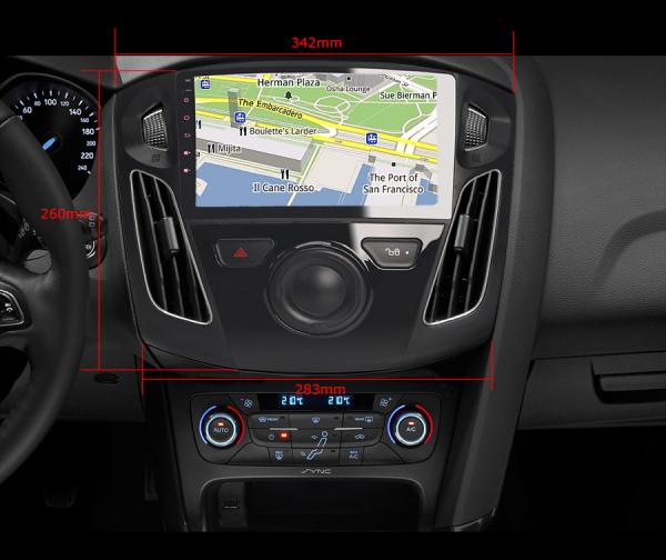 Navigatie auto, Pachet dedicat FORD Focus,9 inch, Android 10.0 9