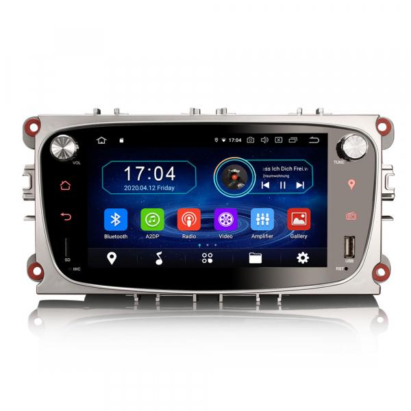 Navigatie auto 2 din, Pachet dedicat Ford Focus Mondeo, 7 Inch, Android 10.0 0