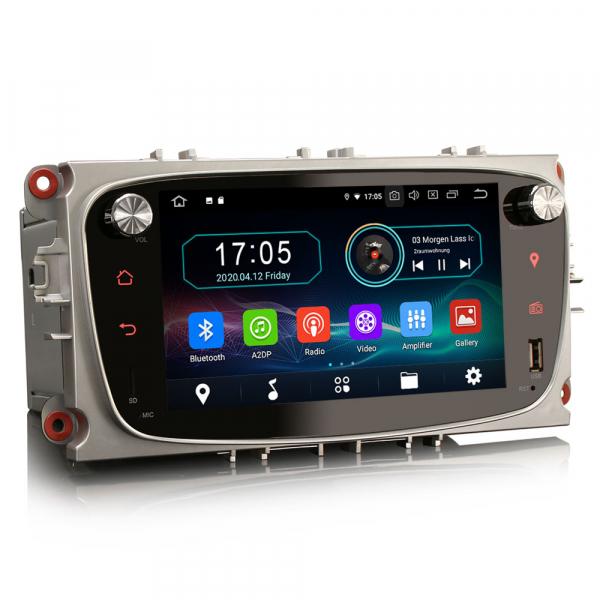 Navigatie auto 2 din, Pachet dedicat Ford Focus Mondeo, 7 Inch, Android 10.0 8